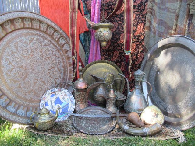 art d'Orient Orientaliste céramique d'Afrique du nord extrème Orient Islamic
