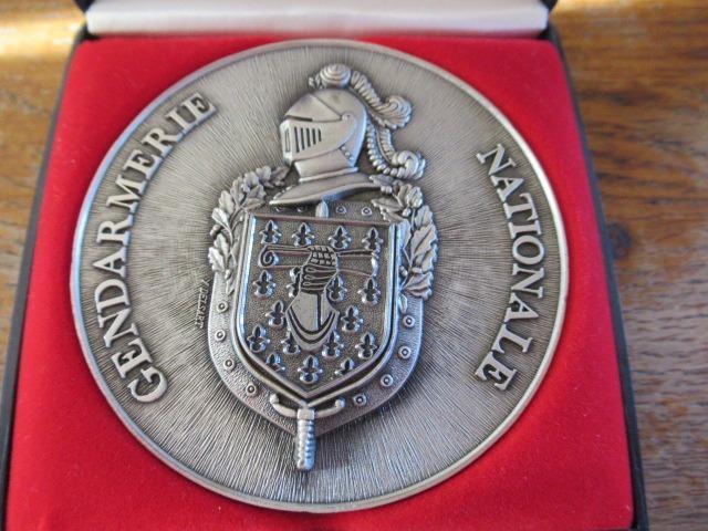 Médaille or argent bronze
